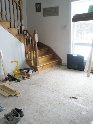 Before Flooring